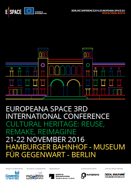 Europeana Space 3rd International Conference