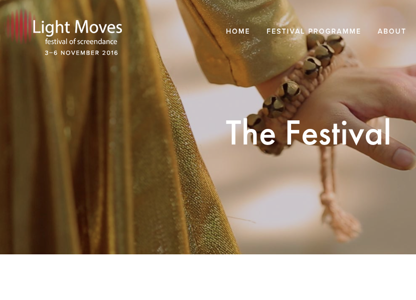 Light Moves Film Festival and Symposium