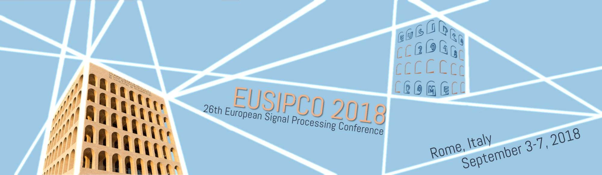 EUSIPCO 2018